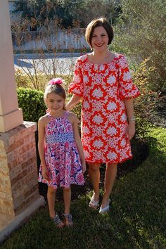 Sew Pretty Dresses: Devon!  Featuring our DEVON pattern! pom pom trim - oh my fun!!