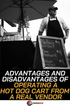 Advantages and Disadvantages of Operating a Hot Dog Cart from a Real Vendor   FTE Episode 090