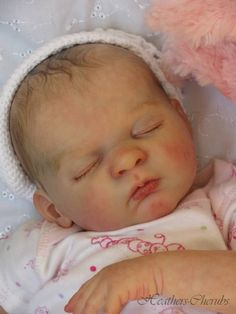 HEATHERS-CHERUBS,Reborn,Tanya,Gudrun Legler,Baby,Doll,Layaway available