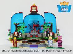 LEGO Ideas - Alice in Wonderland (Chapter Eight – The Queen's Croquet Ground)