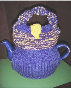 HANDBAG TEA COSY Hand Knitted Handbag Tea Cozy by TeaCosyWorld