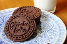 Schoko-Mürbteig-Kekse