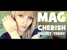 MAC SWATCHES - Cherish vs Velvet Teddy | MICHELA ismyname ❤️
