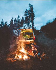 Let's go camping. The warm fire and wild wind is everything I need. Pinterest: ledolinhgiang