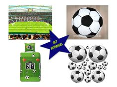 Voetbalkamer - Complete voordeelset | Voetbalkamer idee | 101 kinderkamer ideeën & decoratie