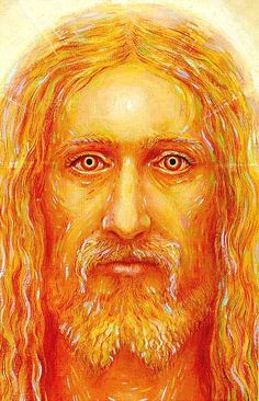 i think this is one of the best Jesus portraits i have seen. by alex grey