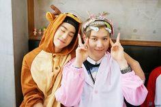 Mark and Yugyeom