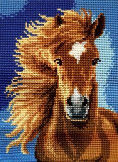 Cross Stitch Horse, Cross Stitch Animals, Cross Stitching, Cross Stitch Embroidery, Cross Stitch Designs, Cross Stitch Patterns, Cross Stitch Cushion, Sewing Circles, Horse Pattern