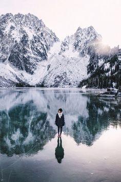 Walking on Water - simplicity is always key in breathtakingly beautiful photos