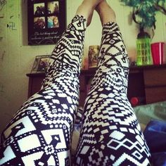 I really don't know why, but I really love legging this year.