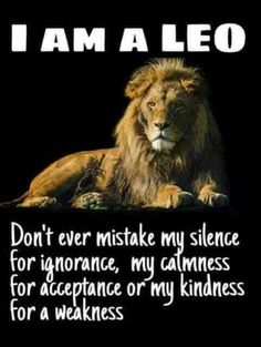 I am a Leo and Im proud of who I am ! U can knock me down but Ill get back up Im am fierce but also loving I have a big heart n aint afraid to let it be known Im big on observing but I wont react unless its necessary ! I am a Leo Leo Horoscope, Astrology Leo, Capricorn, Pisces Zodiac, Lioness Quotes, Leo Zodiac Facts, Leo Zodiac Tattoos, Leo Lion Tattoos, Lion Tattoo Images