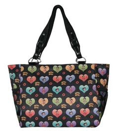 Betty Boop Hearts Tote for $32.00 #onselz