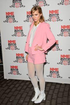 Having a Moment: Block heels // Suki Waterhouse #celebritystyle