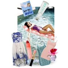just add water, created by kathy-martenson-sanko.polyvore.com