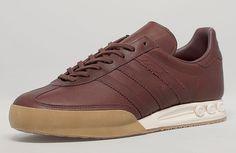 "Size? x adidas Kegler Super ""Leather & Gum"" Pack"