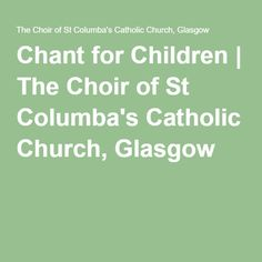 23 Best chant images   Catholic, Church Music, Pdf