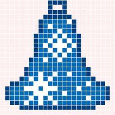 Kerstklokje | Pixel Party