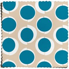 Lucille Fabric in Halcyon - Small / Cotton Canvas / Yard