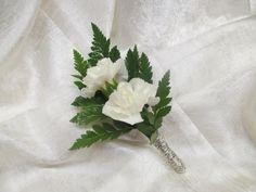 boutonniere: use red carnation Carnation Boutonniere, White Boutonniere, Corsage And Boutonniere, Mini Carnations, Red Carnation, Ms, Wedding Flowers, Graduation, Wedding Inspiration