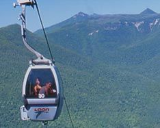 gondola skyride at loon mountain in nh this was my limo to my