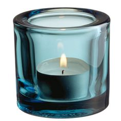 iittala Kivi Candle Holder - Sea Blue $20.00