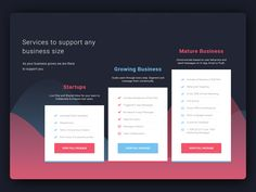 Hi, Dribbblers!  A pricing element of my latest project. Share your ideas with me. Cheers !!  Follow me on  Behance    Envato    Creativemarket   - Have a project in mind, then drop me a line at :-...