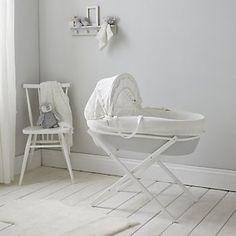Moses Basket Folding Stand - White Company - £25