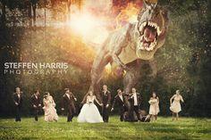 Steffen Harris Photography Blog | Wedding & Senior Photographer » Steffen Harris | Altamont, IL  Wedding Park Dinosaur