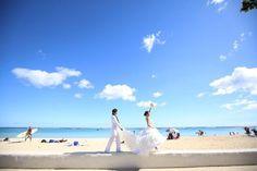 ハワイ フォトウェディング ビーチ