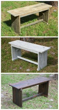#Bench, #ReclaimedWood, #Rustic, #Seat