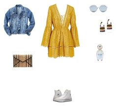 A fashion look from March 2018 featuring mustard dresses, jean jacket and lace up shoes. Browse and shop related looks. Mustard Dressing, Rachel Comey, Lace Up Shoes, Rebecca Minkoff, Marc Jacobs, Shop Now, Converse, Fashion Looks, Blouse