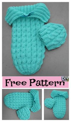 ba3dd2b686f Adorable Knitted Baby Cocoons – Free Patterns  knitting  freepattern   babygift