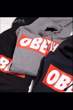 Obey hoody sweatshirt pullover jumper unisex by camdenfashion