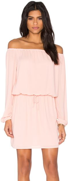 Three Eighty Two Willow Off Shoulder Dress