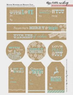 The Best (FREE!) Holiday Printables Round Up