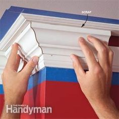 Tutorial for how to install crown molding.