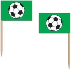 Soccer Ball Flag Picks | 50ct