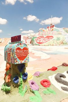 The Cherry Blossom Girl - Salvation Mountain 19