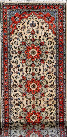 "Buy Tabriz Persian Rug 3' 3"" x 13' 1"", Authentic Tabriz Handmade Rug"