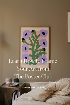 Purchasing a piece of art is understandably viewed as the most exhilarating step in the process of filling your home with art. And it is. However, the choice of framing your newly bought piece can end up becoming an afterthought, but to frame your art is just as important as the actual purchasing of the art. The frame not only enables you to display your art collection – it also helps to protect it. Read the post and find more tips from The Poster Club in our journal. Free Frames, Frame It, Framed Art Prints, Poppies, Art Pieces, Display, Learning, Poster, Home Decor