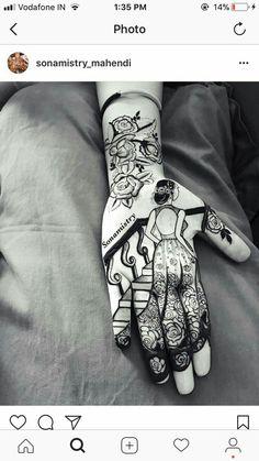 Best 12 Vacation mode onnnnnn ……… in henna. Mehndi Designs 2018, Stylish Mehndi Designs, Bridal Henna Designs, Dulhan Mehndi Designs, Beautiful Henna Designs, Mehndi Designs For Hands, Mehndi Tattoo, Henna Tattoo Designs, Henna Mehndi