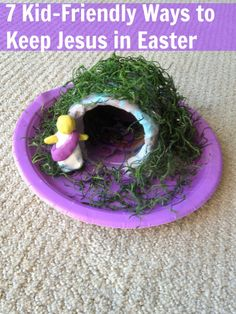 Keep Easter about Jesus! Some great activities for the kids! #Easter #Jesus #Lent