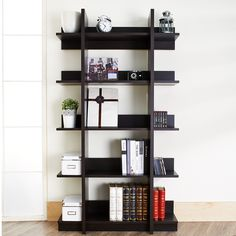 Furniture of America Kriskross Open Espresso Display Stand - Overstock Shopping - Great Deals on Furniture of America Media/Bookshelves