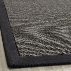 Hand-woven Natural Fiber Serenity Charcoal Sisal Rug (8' x 10') | Overstock.com Shopping - The Best Deals on 7x9 - 10x14 Rugs