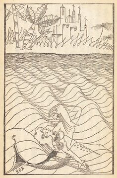 Takeo Takei -- from a 1928 edition of Andersen's fairy tales __ via 50 Watts