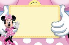 Imprimibles de Minnie Mouse 2. Fiestas infantiles.|¡Disfrutando en mi hogar!
