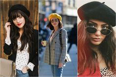 ako nosiť baretku Round Sunglasses, Sunglasses Women, Fashion Outfits, Clothes, Outfits, Clothing, Clothing Apparel, Kleding, Cloths