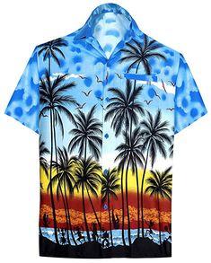 d2906af03f20 Find LA LEELA Shirt Casual Button Down Short Sleeve Beach Shirt Men Aloha  Pocket 213 online. Shop the latest collection of LA LEELA Shirt Casual  Button Down ...
