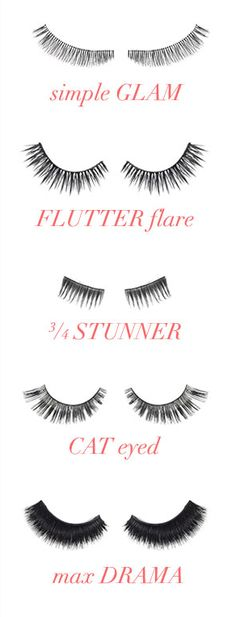 Luxe lashes for every mood
