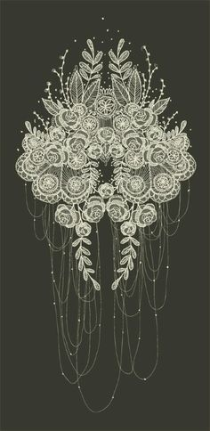Lace tattoo idea, would be cool smaller and wrapped around like a garter